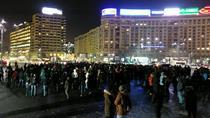 Protest impotriva legii gratierii - Guvern 12