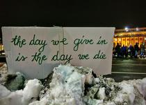 Mesaj la protestul anti-gratiere