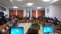 Imagine din timpul sedintei de joi a comisiilor reunite de buget