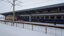 Iarna cu trenul