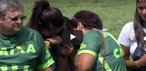 Moment emotionant petrecut pe stadionul celor de la Chapecoense