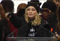 Madonna, la Marsul Femeilor