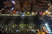 Protest anti-gratiere, 22 ianuarie