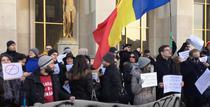 Protest la Paris