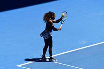 Serena Williams, pe Rod Laver Arena