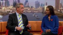 Nigel Farage si Gina Miller