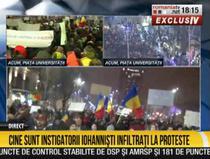 Captura RTV - Cine sunt instigatorii iohannisti infiltrati la proteste