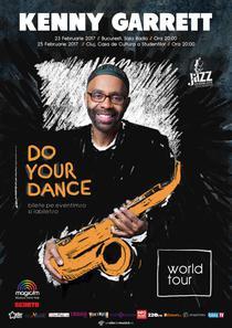 Saxofonistul Kenny Garrett