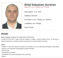 Sebastian Ghita era dat in urmarire nationala si internationala