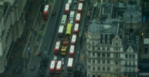 Trafic aglomerat in Londra, ca urmare a grevei de la metrou