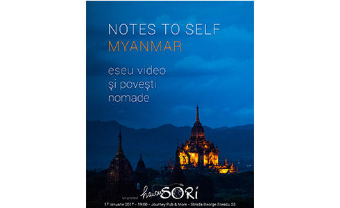 """""""Notes to Self - Myanmar""""."""