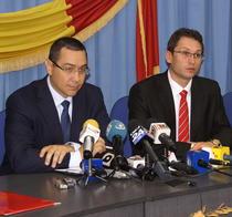 Victor Ponta si Claudiu Teodorescu