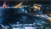 Protest in Piata Victoriei, 31.01.2017