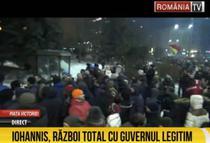Cum relateaza RTV protestul
