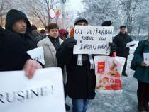 Protest la Turnu Magurele