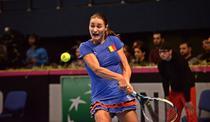 Monica Niculescu, cu ochii pe minge