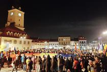 Protest la Brasov - ziua 12