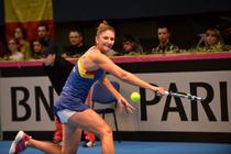 Irina Camelia Begu, alergand dupa o minge