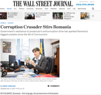 Kovesi, in Wall Street Journal