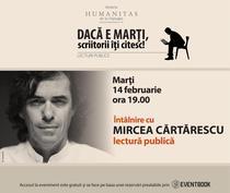 Lectura publica cu Mircea Cartarescu