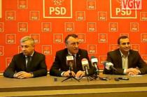 Iordache, Stanescu si Oprescu (presedinte CJ Olt)