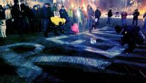 Protest in Piata Victoriei - ziua 17