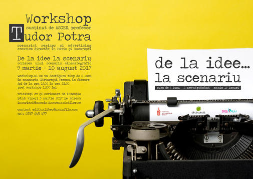 Atelier scenaristica ASCER_afis rsz 1