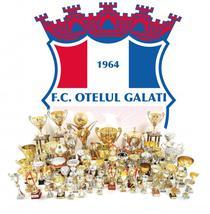 Colectia de trofee a echipei Otelul Galati