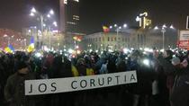 Protest Piata Victoriei 17 februarie