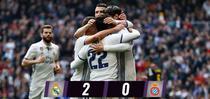 Real Madrid, victorie cu Espanyol