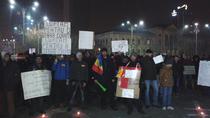 Protest Piata Victoriei 18 februarie