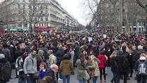 Manifestatie anti-coruptie la Paris