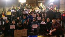 Protest la Edinburgh