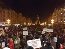 Protest Timisoara joi