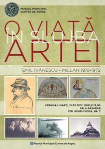 Expozitie omagiala Emil Ivanescu-Millan