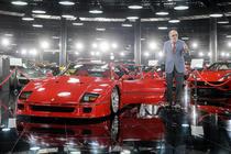 Ion Tiriac si Ferrari F40