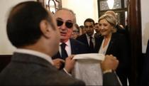 Marine Le Pen, in Beirut