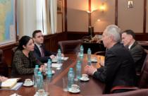 Hans Klemm, vizita la ministrul interimar al Justitiei, Ana Birchall