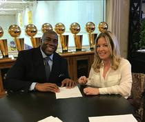 Magic Johnson, presedinte la LA Lakers