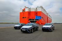 Masini pe hidrogen Toyota Mirai