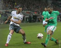 United, victorie cu Saint-Etienne
