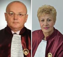 Judecatorii CCR Stefan Minea si Livia Stanciu