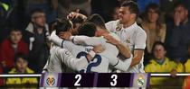 Realul, victorie importanta pe terenul lui Villarreal