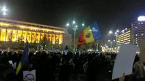 Protest Piata Victoriei 17