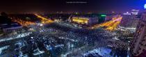 Protest urias in Bucuresti - Dan Mihai Balanescu