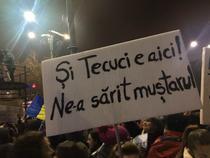 Protest Tecuci