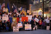 Protest la Chicago