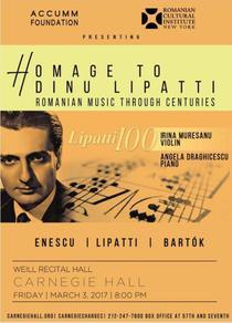 "Concert aniversar ""Lipatti 100"""