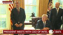 Seful Intel si Donald Trump (CBS)