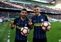 Ever Banega si Mauro Icardi